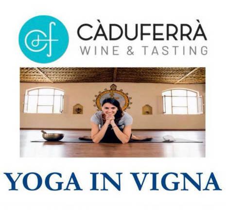 Yoga in Vigna a Cà du Ferrà Wine&Tasting